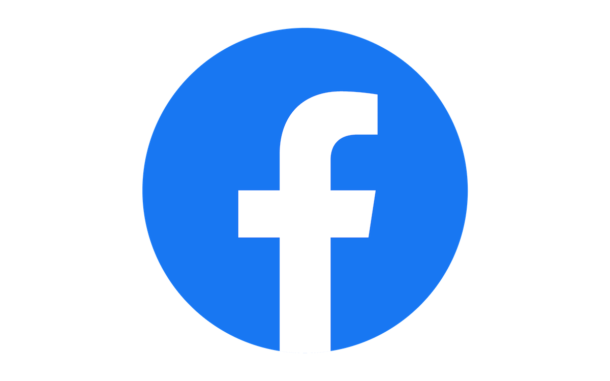 The blue Facebook submark where the letter f is in a circle.