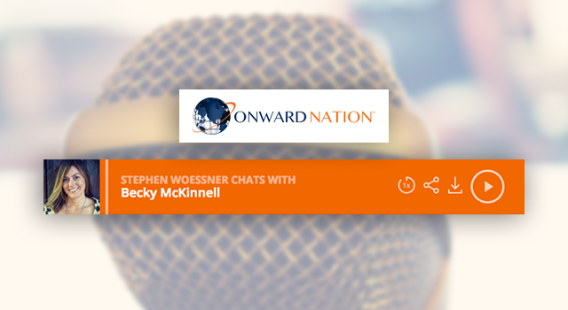 Onward Nation with Stephen Woessner featuring Becky McKinnell