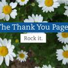 The Thank You Page: Make the most of this under-utilized web page